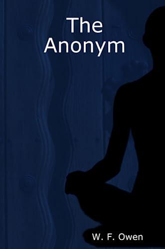 The Anonym: w. f. owen