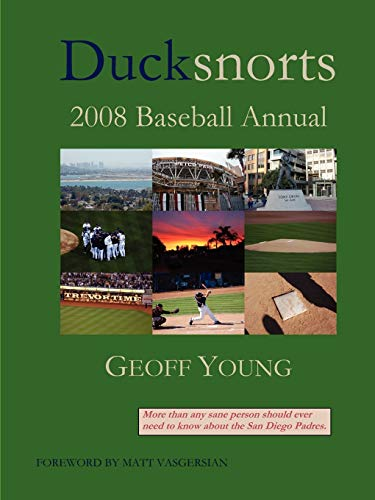 Ducksnorts 2008 Baseball Annual