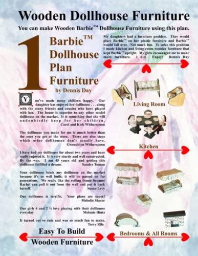 9781435714564: Barbie Dollhouse Plan Furniture