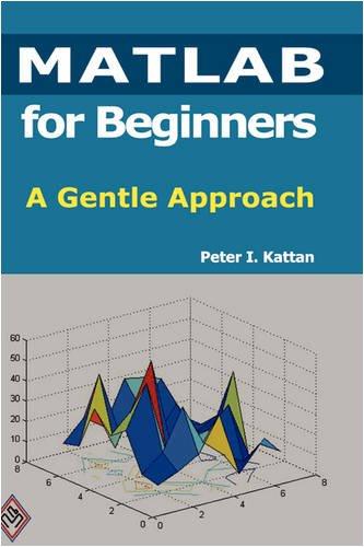 9781435726970: MATLAB for Beginners: A Gentle Approach