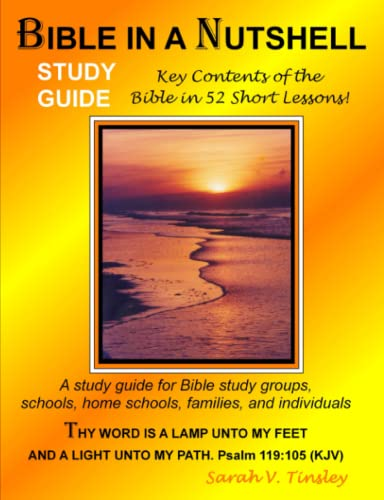 9781435730878: Bible in a Nutshell Study Guide
