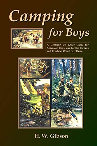 9781435733145: Camping For Boys