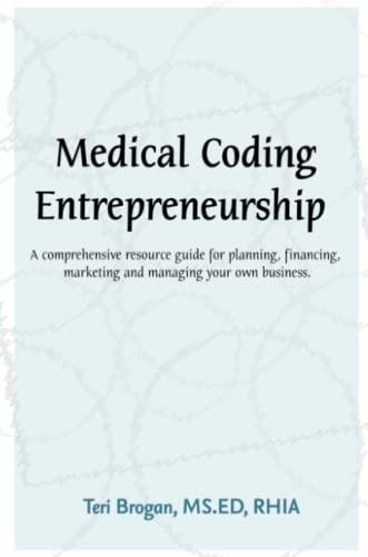 9781435734449: Medical Coding Entrepreneurship