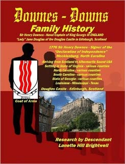 9781435735101: The DOWNES or DOWNS FAMILY GENEALOGY