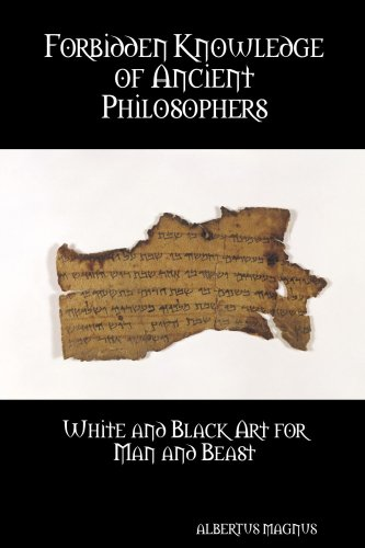 9781435744332: Forbidden Knowledge of Ancient Philosophers