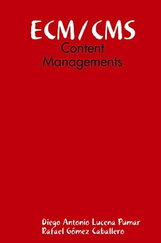 9781435749795: ECM/CMS: Content Managements (Spanish Edition)