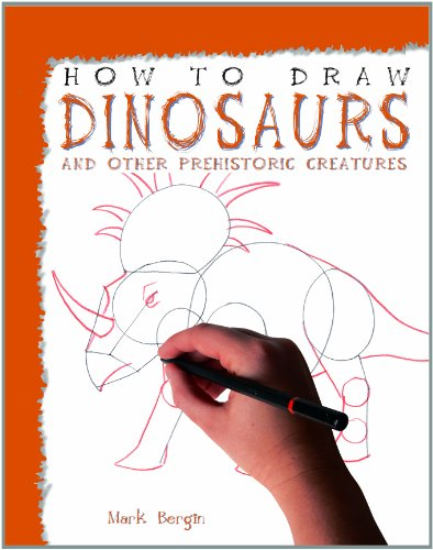 9781435825178: Dinosaurs and Other Prehistoric Creatures (How to Draw (Powerkids Press) (Library))