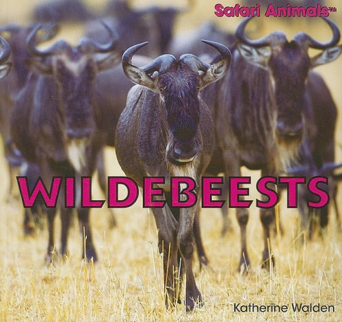 Wildebeests (Safari Animals (Paperback)): Walden, Katherine