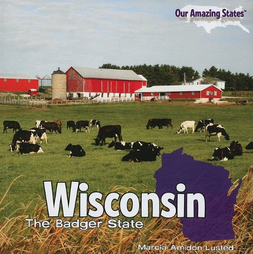 9781435833661: Wisconsin: The Badger State (Our Amazing States (Paperback))