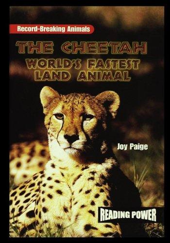 9781435836822: The Cheetah: World's Fastest Land Animal