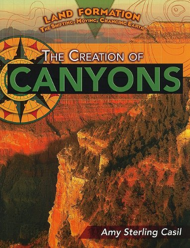 9781435855908: The Creation of Canyons (Land Formation: The Shifting, Moving, Changing Earth (Paperback))