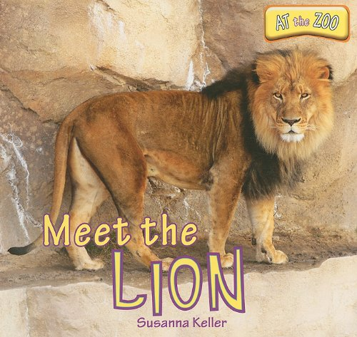 At the Zoo: Meet the Lion