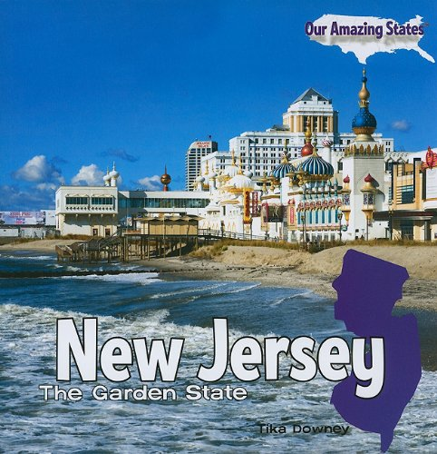 9781435898066: New Jersey: The Garden State (Our Amazing States (Paperback))