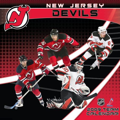 9781436001830: NHL New Jersey Devils 2009 Team Calendar