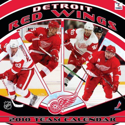 9781436044059: Detroit Red Wings 2010 Wall Calendar