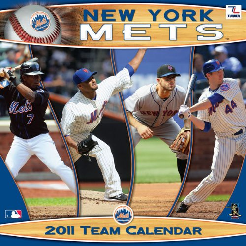2011 New York Mets Calendar: Perfect Timing - Turner