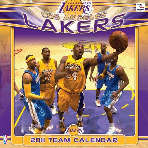 9781436064903: 2011 Los Angeles Lakers Calendar