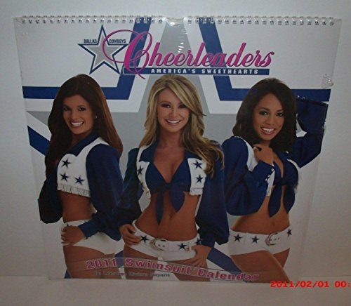 9781436066228: 2011 Dallas Cowboy Cheerleaders 15x15 Wall Calendar