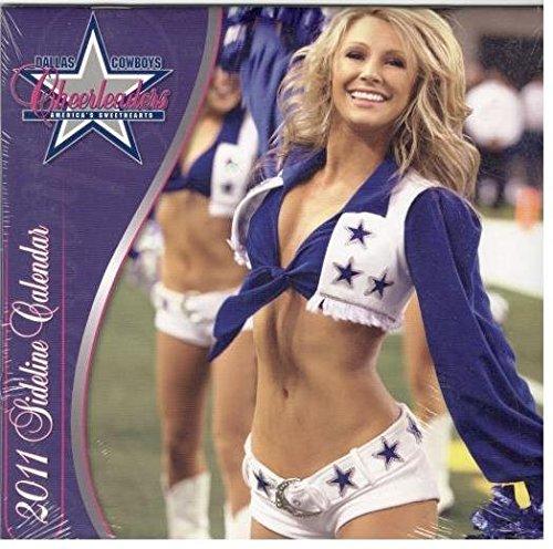 9781436070874: 2011 Dallas Cowboy Cheerleaders - Mini Calendar