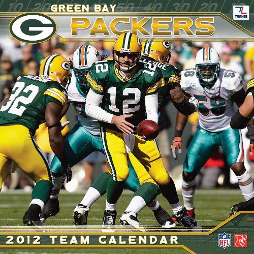 9781436086172: Green Bay Packers 2012 Team Calendar