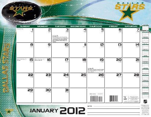 9781436089340: Dallas Stars 2012 Calendar
