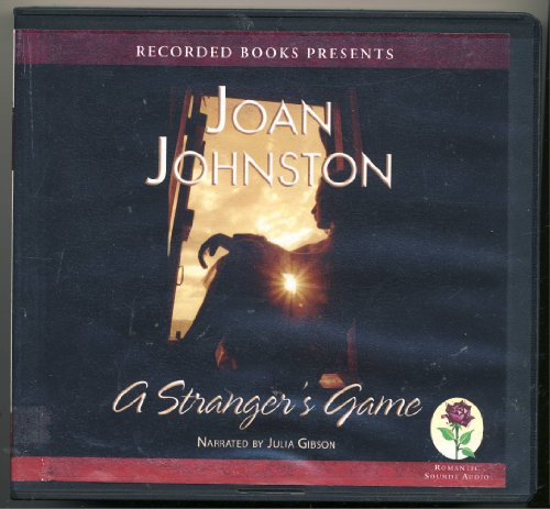 9781436153096: A Stranger's Game, Narrated By Julia Gibson, 10 Cds [Complete & Unabridged Audio Work]