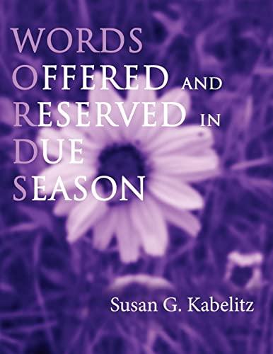 Words: Susan G. Kabelitz