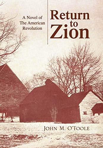 9781436320788: Return to Zion