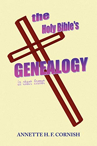 9781436341189: The Holy Bible's Genealogy: In Chart Format