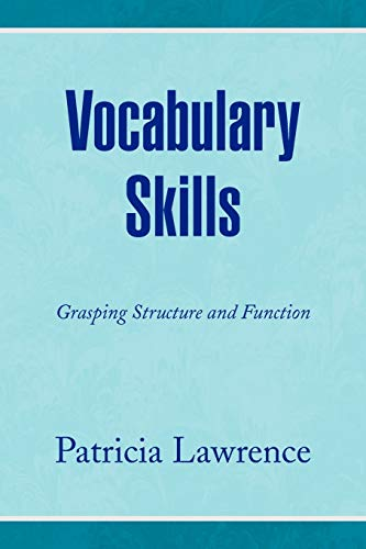 9781436358101: Vocabulary Skills: Grasping Structure and Function