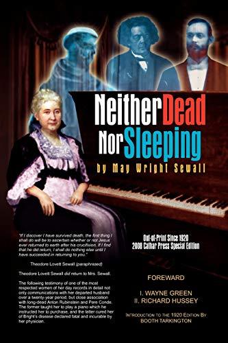 9781436385435: Neither Dead Nor Sleeping
