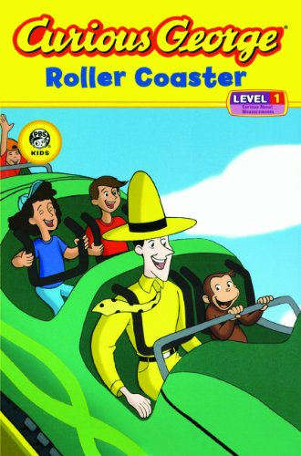 9781436427012: Curious George Roller Coaster (Turtleback School & Library Binding Edition) (Curious George about Measurements: Level 1)
