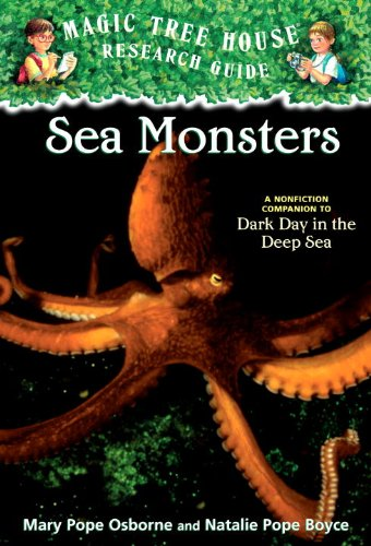 9781436435468: Sea Monsters: A Nonfiction Companion To Dark Day In The Deep Sea (Turtleback School & Library Binding Edition) (Magic Tree House Research Guides (Unumbered Pb))