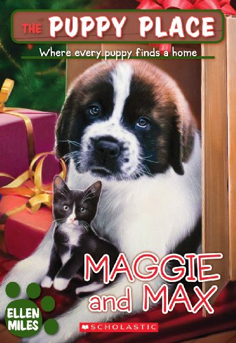 9781436437011: Maggie And Max (Turtleback School & Library Binding Edition) (Puppy Place)