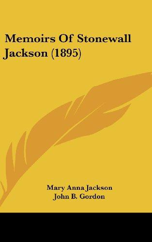 9781436500241: Memoirs Of Stonewall Jackson (1895)