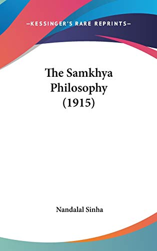 9781436511001: The Samkhya Philosophy (1915)