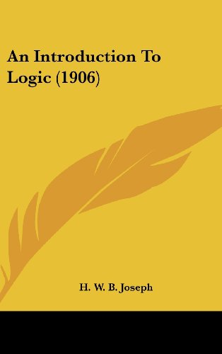 9781436548656: An Introduction To Logic (1906)