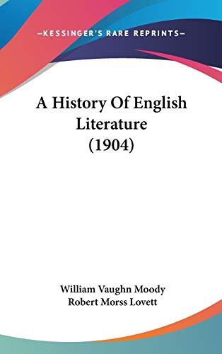 9781436594219: A History Of English Literature (1904)