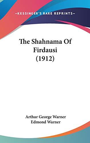 9781436595162: The Shahnama Of Firdausi (1912)