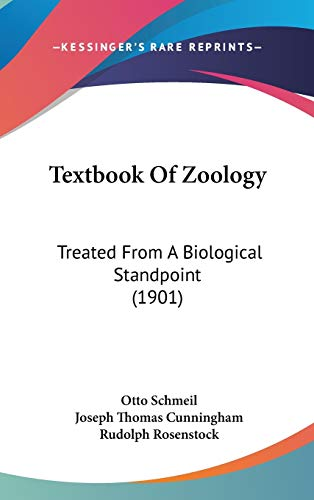 9781436617680: Textbook Of Zoology: Treated From A Biological Standpoint (1901)