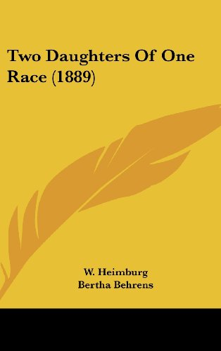 9781436650939: Two Daughters of One Race (1889)