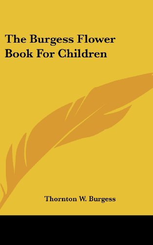 9781436673730: The Burgess Flower Book for Children