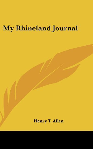 9781436674195: My Rhineland Journal