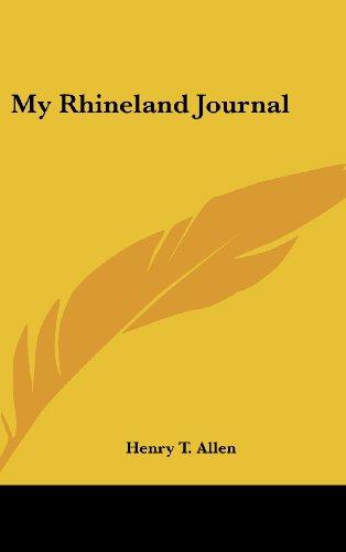 9781436674195: My Rhineland Journal