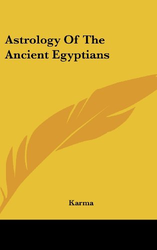 9781436675277: Astrology of the Ancient Egyptians