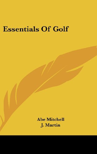 9781436679312: Essentials Of Golf