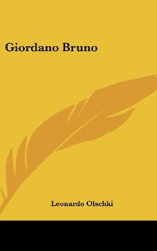 9781436680660: Giordano Bruno