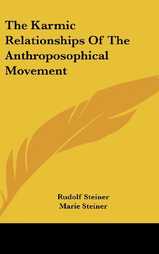 9781436683845: The Karmic Relationships Of The Anthroposophical Movement