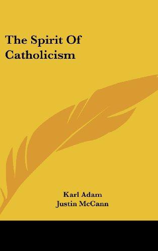 9781436685269: The Spirit Of Catholicism