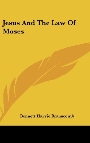 9781436685399: Jesus And The Law Of Moses